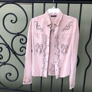 NWT Suede country western jacket/top size M